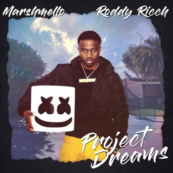 Project Dreams by Marshmello feat. Roddy Ricch - cover art