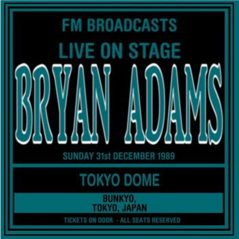 Testi Live On Stage FM Broadcasts - Tokyo Dome 31st December 1989