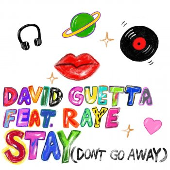 David Guetta feat. RAYE -                            cover art