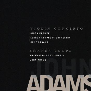 Testi Adams, John: Violin Concerto; Shaker Loops