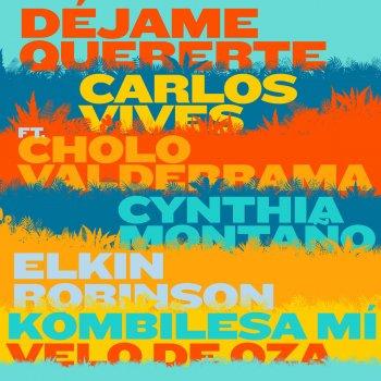 Testi Déjame Quererte (feat. Cholo Valderrama, Cynthia Montaño, Elkin Robinson, Kombilesa Mí & Velo de Oza)