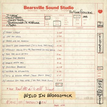 Testi Wild in Woodstock: The Isley Brothers Live at Bearsville Sound Studio (1980)