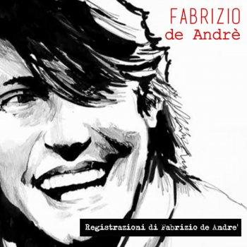 Testi Registrazioni di Fabrizio de Andrè - EP