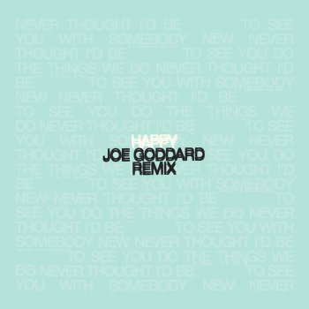 Testi Happy (Joe Goddard Remix) - Single