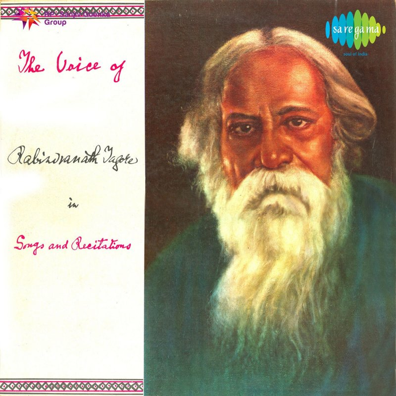Rabindranath Tagore - Prashna Bhagaban Tumi Juge Juge (Recitation