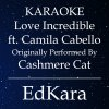 Love Incredible (Originally Performed by Cashmere Cat