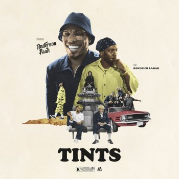 Tints (feat. Kendrick Lamar)                                                     by Anderson .Paak – cover art