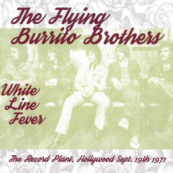 White Line Fever: The Record Plant, Hollywood, Sept. 19th 1971 (Live) - cover art