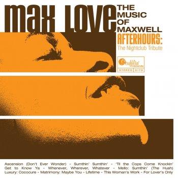 Testi Max Love: The Music of Maxwell - The Nightclub Tribute