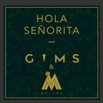 Hola Señorita by Maître Gims feat. Maluma - cover art
