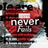 Love Never Fails (Inst.) J-US (제이어스) - cover art