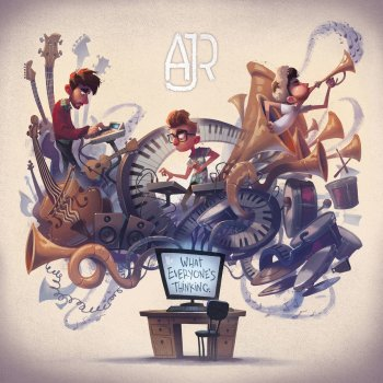 Weak by AJR - cover art