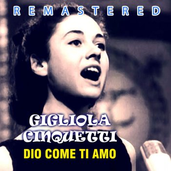 Testi Dio come ti amo (Remastered)