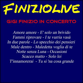 Testi Finizio Live (In concerto)
