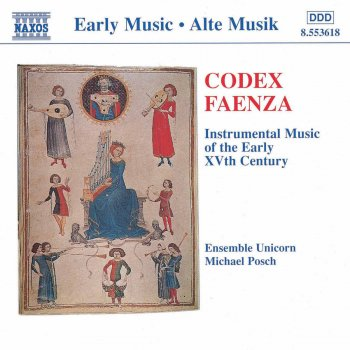 Testi Codex Faenza: Instrumental Music of the Early 15th Century