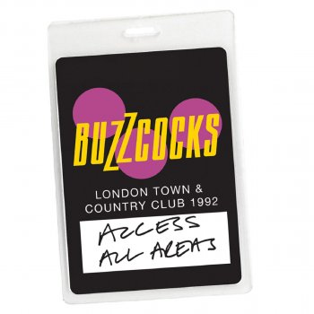 Testi Access All Areas - Buzzcocks Live Town & Country Club 1992