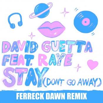 Stay (Don't Go Away) (Ferreck Dawn Remix) by David Guetta feat. RAYE - cover art