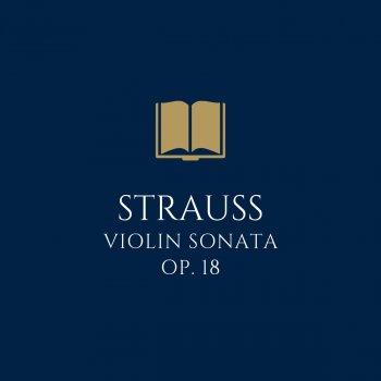 Testi Strauss: Violin Sonata in E Flat Major, Op. 18