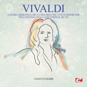 Testi Vivaldi: L'Estro Armonico, Op. 3, Concerto No. 11 in D Minor for two violins, cello and strings, RV 565 (Remastered)