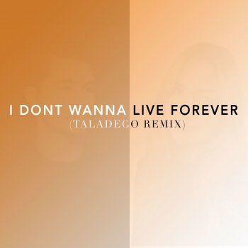 I Don't Wanna Live Forever (Ta...