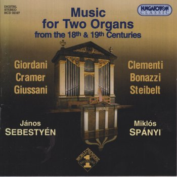 Testi Music for 2 Organs From The 18th And 19th Centuries