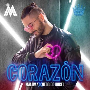 Corazón lyrics – album cover
