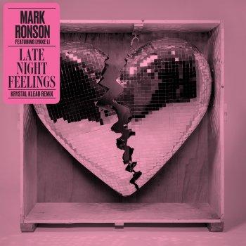Late Night Feelings (Krystal Klear Remix) by Mark Ronson feat. Lykke Li - cover art