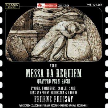 Testi Verdi: Messa da Requiem & 4 Pezzi sacri