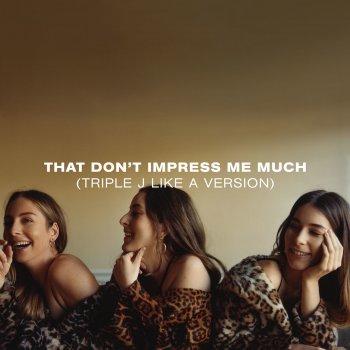 Testi That Don't Impress Me Much (triple j Like A Version)