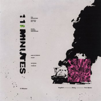 11 Minutes by YUNGBLUD feat. Halsey & Travis Barker - cover art