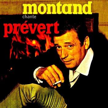 Testi Yves Montand Chante Jacques Prévert (Remastered)