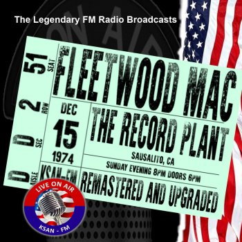 Testi Legendary FM Broadcasts - The Record Plant, Sausalito CA 15th December 1974