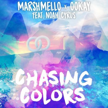 Chasing Colors (feat. Noah Cyrus) by Marshmello feat. Ookay & Noah Cyrus - cover art