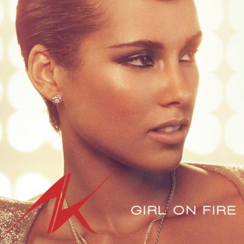 Girl On Fire by Alicia Keys - cover art