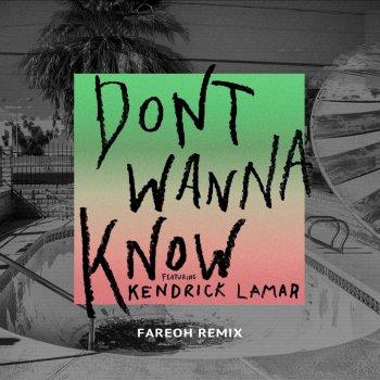 Testi Don't Wanna Know [Fareoh Remix]