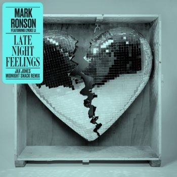 Late Night Feelings (Jax Jones Midnight Snack Remix) by Mark Ronson feat. Lykke Li - cover art
