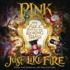"Just Like Fire (From the Original Motion Picture ""Alice Through The Looking Glass"") lyrics – album cover"
