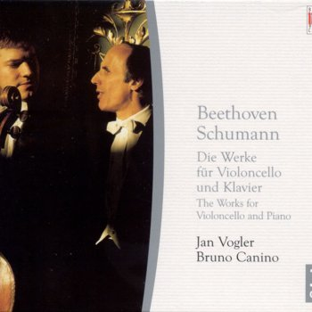 Testi Ludwig van Beethoven: Cello Sonatas and Variations / SCHUMANN, R.: Cello and Piano Works (Vogler, Canino)