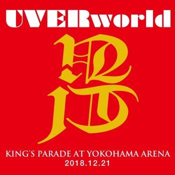 Testi UVERworld KING'S PARADE at Yokohama Arena 2018.12.21