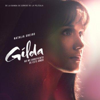 """No Me Arrepiento de Este Amor (Tema Principal de la Película """"Gilda, No Me Arrepiento de Este Amor"""") lyrics – album cover"""