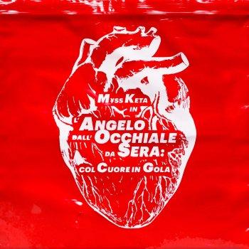 Testi L'angelo dall'occhiale da sera: col cuore in gola