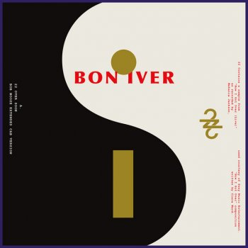 22/10                                                     by Bon Iver – cover art