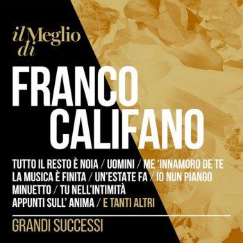 Testi Il Meglio di Franco Califano - Grandi Successi