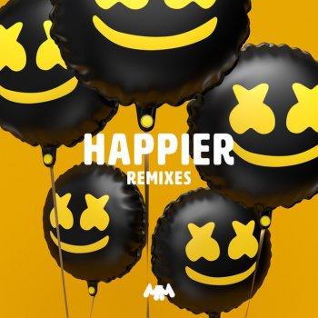 Happier - Breathe Carolina Remix by Marshmello feat. Bastille & Breathe Carolina - cover art