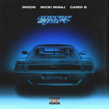 Motor Sport by Migos feat. Nicki Minaj & Cardi B - cover art