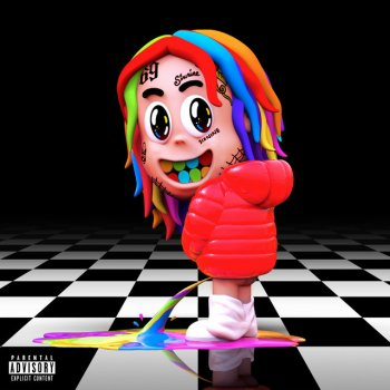 BEBE by 6ix9ine feat. Anuel AA - cover art