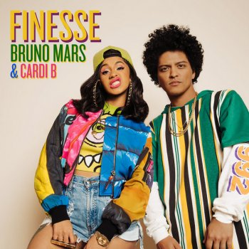 Finesse (Remix) by Bruno Mars feat. Cardi B - cover art