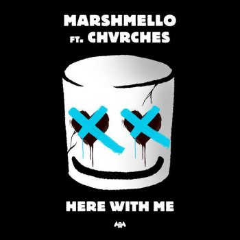 Here With Me by Marshmello feat. CHVRCHES - cover art