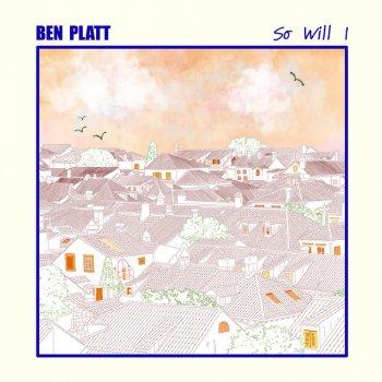 So Will I by Ben Platt - cover art