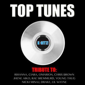 Testi Top Tunes (Tribute Rihanna, Ciara, Omarion, Chris Brown, Jhene Aiko, Rae Sremmurd, Young Thug, Nicki Minaj, Drake, Lil Wayne)